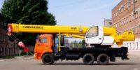 Автокран Ивановец 25 тонн на базе КАМАЗ