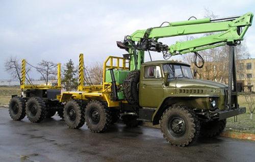 Урал-4320 - Лесовоз