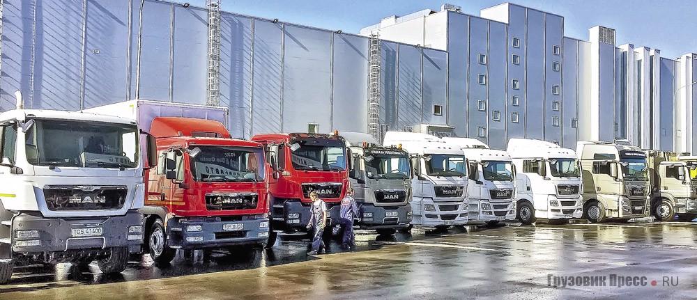 Лизинг грузовиков