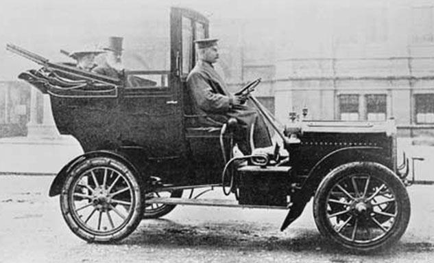 История такси - создание службы