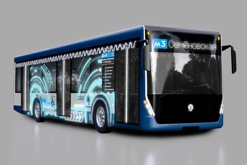 Электробусы ГАЗ и КАМАЗ  в  Москве