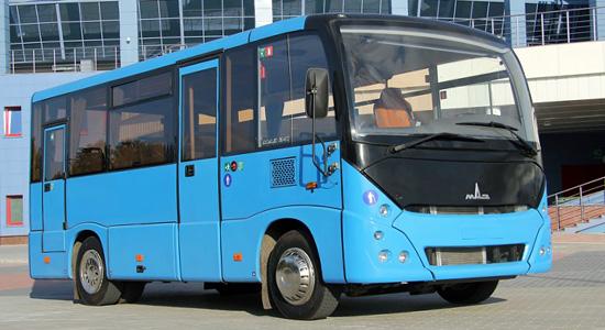 Автобусы МАЗ-241 малого класса