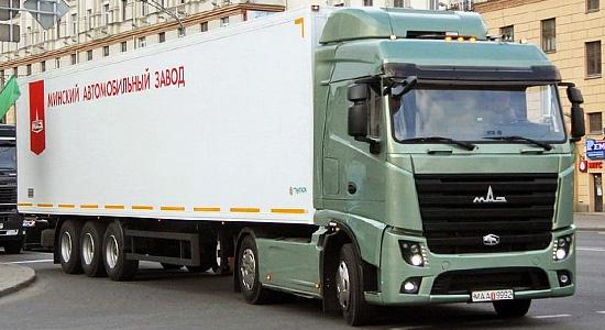 Магистральный седельный тягач МАЗ-5440