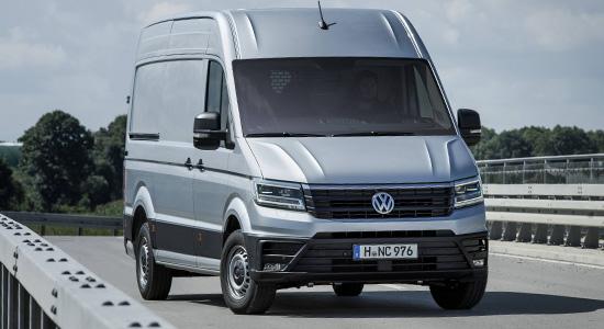 Среднетоннажные коммерческие автомобили  Volkswagen Crafter