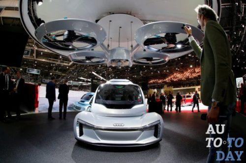 Airbus и Audi испытают летающего такси