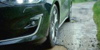 Ford Focus  распознает выбоины на дорогах