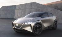 Nissan электрический концепт-кар из будущего