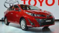 За обновлённым седаном Toyota Yaris уже очередь