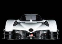 Toyota запустит  1000-сильный гиперкар