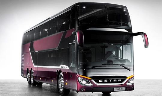 Безопасный новый двухярусный автобус Setra S 531 DT