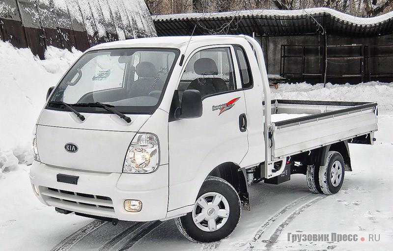 Малотоннажный грузовик Kia бонго