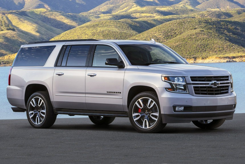 Chevrolet Suburban RST  стал  шустрее