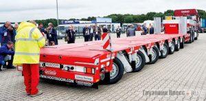Прицепы для транспортировки полностью собранных и неделимых грузов