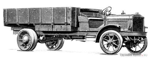 грузовик White