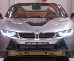 BMW  использует томографию автомобилей