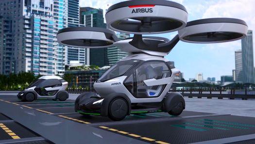 Летающий автомобиль будущего