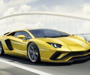 Aventador, преемник Lamborghini, приобретет гибридную установку  V12