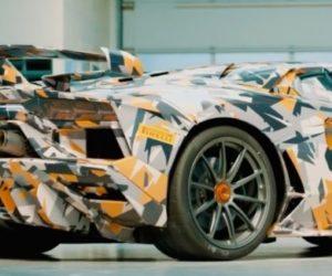 Появился новый Lamborghini Aventador SVJ