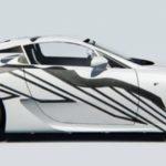 Lexus LFA превратили в арт-кар