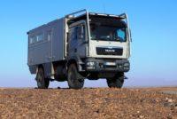 Автодом на шасси MAN — по тундре и пустыне