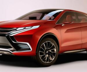 Дизайн нового  Mitsubishi ASX удивляет