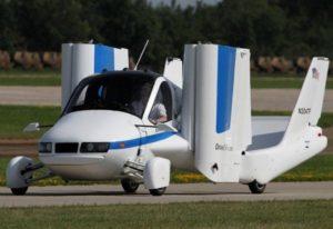 На рынке в 2019 году появится летающий автомобиль Terrafugia