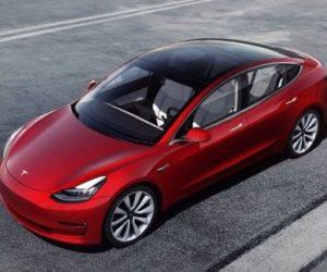 Tesla - новая модель с двумя моторами