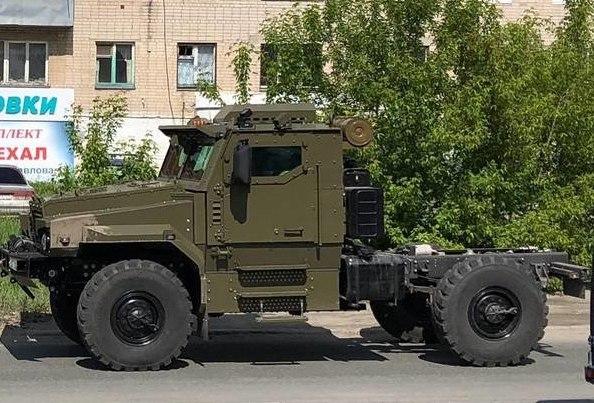 Компактный бронированный грузовик «Урал»