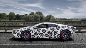 Испытания проходит купе Ares Panther