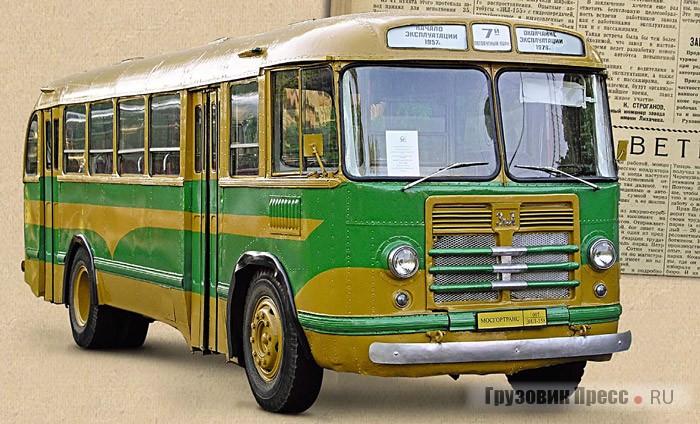 Автобус ЗИЛ-158. Статья пятьдесят восемь