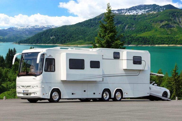 Огромный автодом VARIOmobil