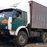 Адаптация вездехода КамАЗ-4310 к условиям Крайнего Севера