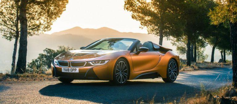 Новый BMW i8 Roadster
