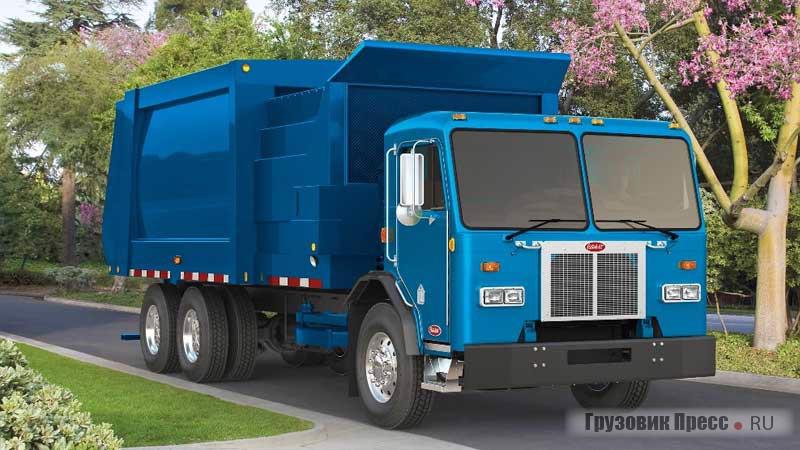 Peterbilt Model 520  лидер сегмента бескапотных грузовиков с низкой кабиной