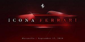 Новый суперкар Ferrari.