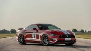 Ford Mustang Heritage Edition на диагностике