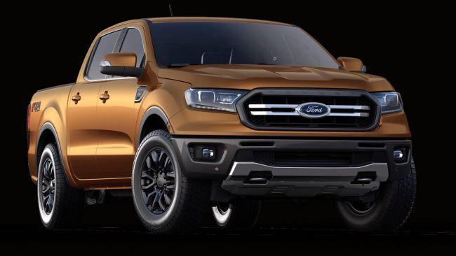 Новый Ford Ranger 2019