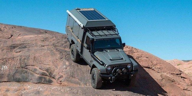 Jeep Wrangler - дом на колесах