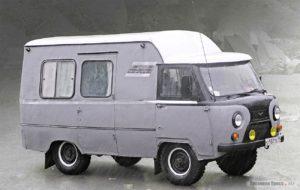 автомобили-кемперы в Советское время