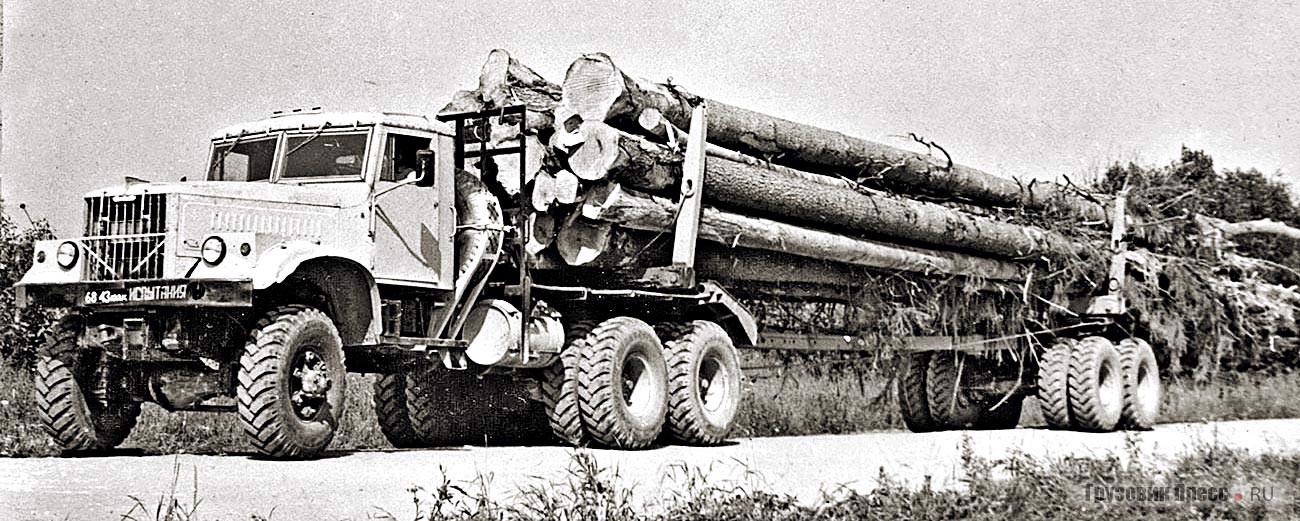Переделка лесовоза КрАЗ-255