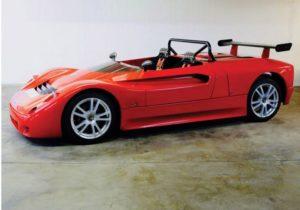 На аукционе редкая «баркетта» Maserati