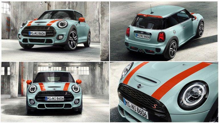 Новая версия Mini Cooper S - Delaney Edition. Тираж  всего 350 экземпляров