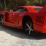 Nissan Sentra превратили в Ferrari F40