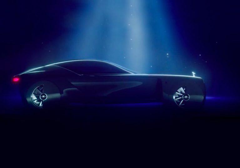 Rolls-Royce показала ролик  дизайна