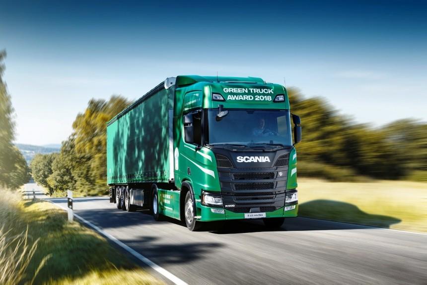 Scania - экологичная серия тягачей