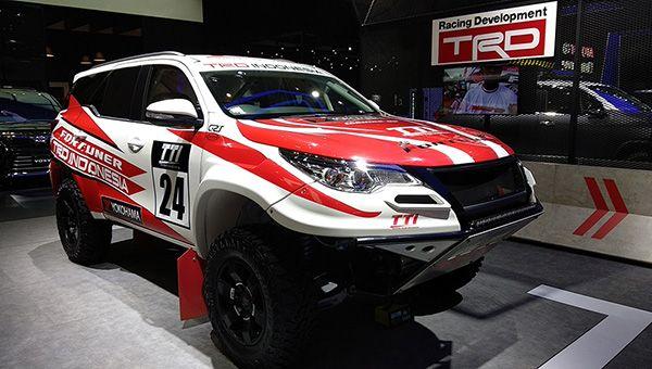 Особый внедорожник Toyota Fortuner