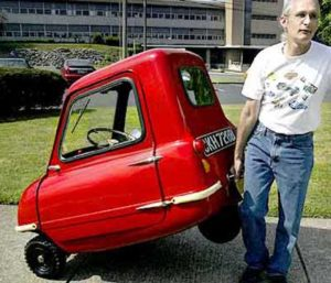 Самый маленький автомобиль в мире весит всего 59 кг