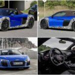 Обновленный  суперкар  Audi R8 Spyder.