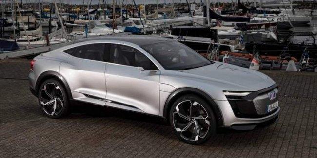 Новые электрокары компании Audi