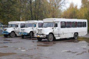 Странные советские автобусы